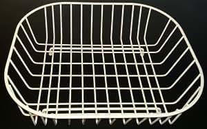 Stormmont - Cream Oval Sink Basket 38 x 32cm