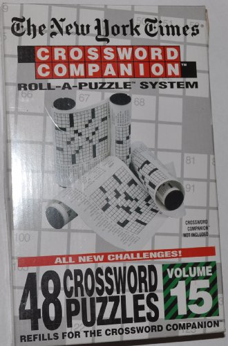 The New York Times: Crossword Companion Roll-A-Puzzle Refills Volume 15