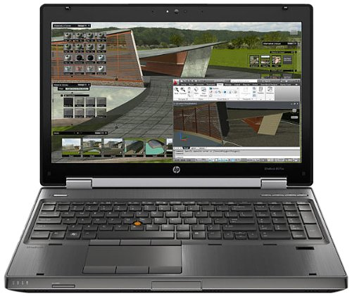 HP EliteBook 8570w C7A70UT 15.6' LED Notebook - Intel - Core i7 i7-3630QM 2.4GHz - Gunmetal