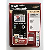 TEXAS INSTRUMENTS TI-84 PLUS CE SILVER EDITION DUMMIES INCLUDED BLACK