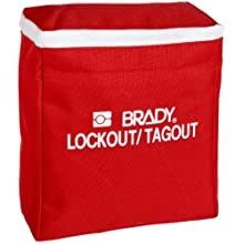 "Brady Lockout Pouch, Legend ""Lockout/Tagout"""