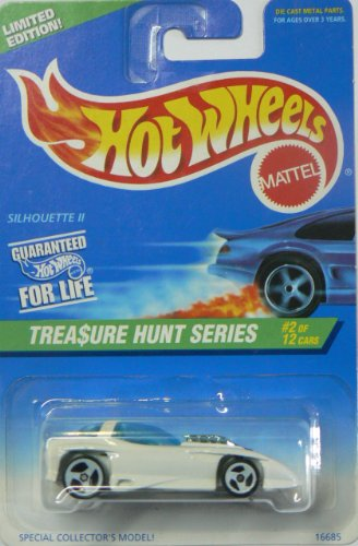 Mattel Hot Wheels 1996 Treasure Hunt Series Limited Edition Silhouette II (#2 of 12), Collector No. 579 - 1