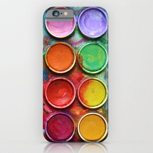 iPhone6ケース[4.7インチ] society6(ソサエシティシックス) Paint boxデザイナーズiPhoneケース 正規輸入品