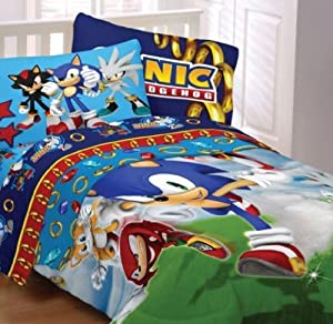Amazon.com - Sega Sonic The Hedgehog Twin Comforter