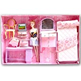 Beautiful Kids Toys With Trendy Dresses Like Barbie Doll Set Toy Baby Gift - 31