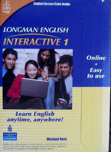 Longman English Interactive 1, Online Version, American...