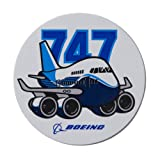 747 Pudgy Sticker