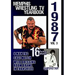 1987 Memphis Wrestling TV Yearbook Vol 3