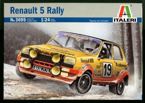 3695 1/24 Renault 5 Rally