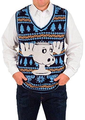 Men's Christmas Vacation Moose
