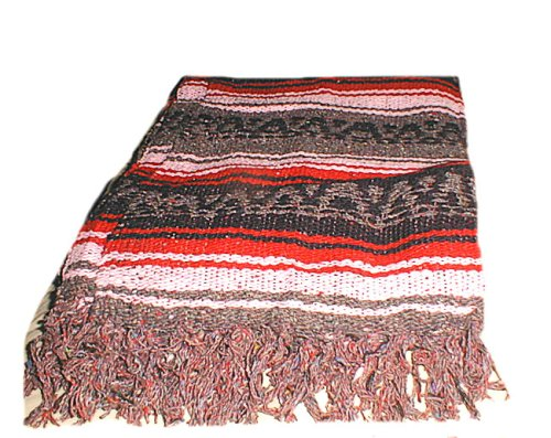 Mexican Cotton Blanket front-1081005