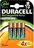 Guilty Gadgets ® - Duracell Supreme Rechargeable Ni-Mh Batteries AAA 1000