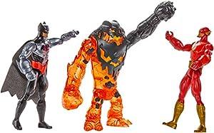 Batman Unlimited Molten Mayhem Batman & The Flash Vs. Clayface Figure 3-Pack at Gotham City Store