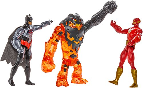 Batman Unlimited Molten Mayhem Batman & The Flash Vs. Clayface Figure 3-Pack at Gotham City Store
