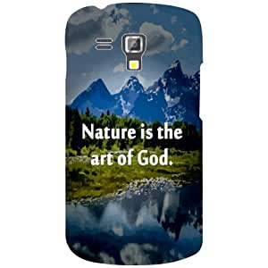 Samsung Galaxy S Duos 7562 Nature Beauty Matte Finish Phone Cover - Matte Finish Phone Cover