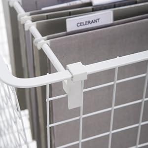 Wire Basket Hanging File Bars