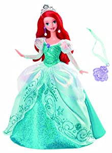 Amazon.com: Disney Princess Holiday Princess Ariel Doll