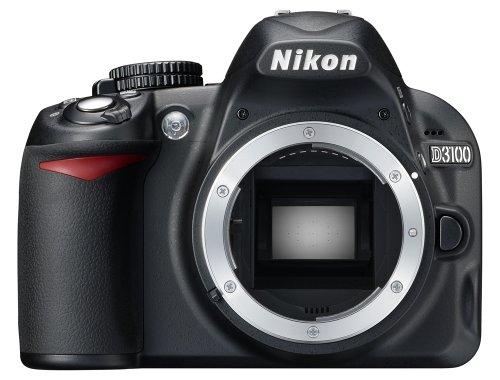 Nikon-D3100-Fotocamera-digitale-reflex-142-Megapixel-con-Obiettivo-Nikkor-1855VR-55200VR-SD-8GB-Premium-100X-Lexar-Nital-card-4-anni-di-garanzia