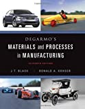 img - for DeGarmo's Materials and Processes in Manufacturing book / textbook / text book