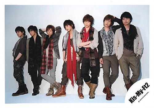 ジャニーズ公式生写真【集合】Kis-My-Ft2