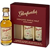 Glenfarclas Mini Tri Pack 15/ 21/ 25 Year Old Whisky 5 cl (Case of 3)