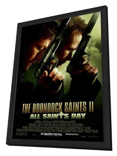 The Boondock Saints II: All Saints Day - 11 x 17 Framed Movie Poster