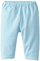 Zutano Unisex Baby Candy Stripe Pant, Pool, 12 Months