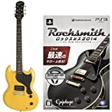 "Epiphone LIMITED MODEL SG Junior (Worn TV Yellow) +PS3版""Rocksmith(ロックスミス) 2014"" SPECIAL SET"