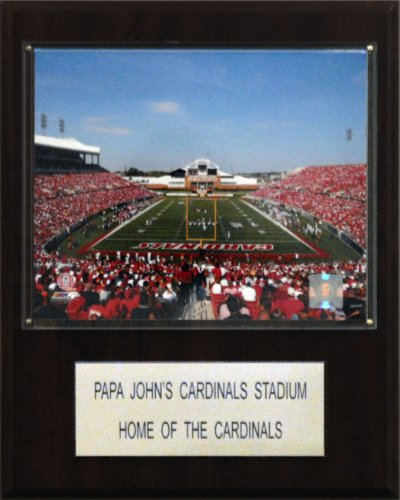 cardinal-stadium-stadium-la-plaque-de-c-i-collectables-1215papajst-ncaa-football-papa-john