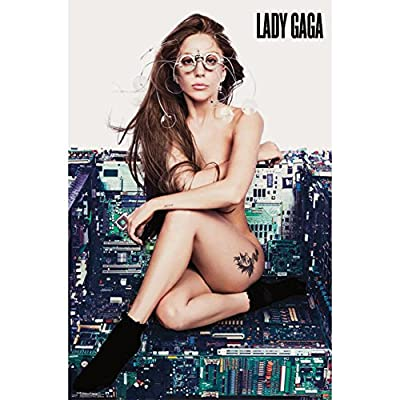 Trends Intl. Lady Gaga Chair Poster, 24-Inch by 36-Inch