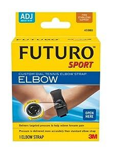 Futuro Sport Custom Dial Tennis Elbow Strap by Futuro