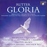 John Rutter - Gloria / Bernstein - Chichester Psalms Choir Of Clare College