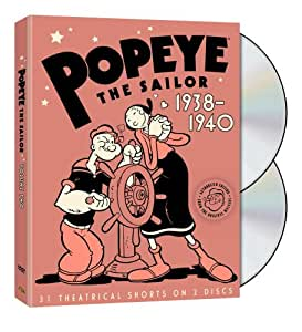 Popeye the Sailor: 1938-1940: The Complete Second Volume
