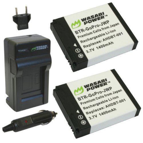 Wasabi Power Battery 2-Pack and Charger