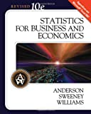 Statistics for Business and Economics, 10th Revised Edition (Books & CD-ROM)