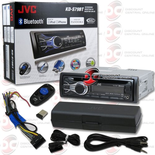 "2013 Jvc 1Din Car Am/Fm, Mp3, Wma Player With Bluetooth Usb Aux-In & Wireless Remote + ""Free"" 3.5Mm Auxiliary Cable"