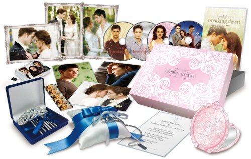 【Amazon.co.jp限定】ブレイキング・ドーンPart1 /トワイライト・サーガ Blu-ray & DVDコンボ コレクターズBOX (『エクリプス/トワイライト・サーガ』microSD付 Weddingエディション)(1,000セット限定)