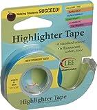 """Fluorescent Highlighter Tape 1/2""""X720""""-Fluorescent Blue"""