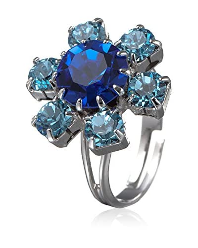 Kristall Boutique Made with Swarovski Elements Anillo Rays Of Sun