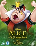 Alice In Wonderland [Blu-ray] Disney Villains O-Ring Slipcover Edition UK Import (Region Free) Disney Classics #13