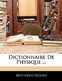 echange, troc Aim-Henri Paulian - Dictionnaire de Physique ...