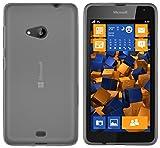 mumbi Schutzhülle Microsoft Lumia 535 Hülle transparent
