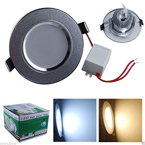 thg-ein-stck-deckenleuchte-licht-der-leistungs-3w-aluminiumober-satin-silber-oberflche-100-240v-165-