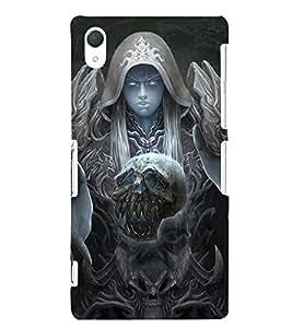 EPICCASE supernatural Mobile Back Case Cover For Sony Xperia Z2 (Designer Case)