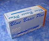 #10: 200 Einmalhandschuhe Nitril Einweghandschuhe Blue Basic Plus Größe: X-large 9-10 Farbe: blau