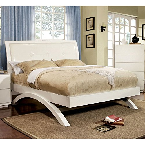 Video review furniture of america ellsworth platform bed for Furniture of america bed reviews