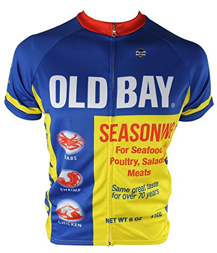 OLD BAY® Cycling Jersey (Medium) (Old Cycling Jersey compare prices)