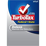 TurboTax Deluxe Federal + State + eFile 2008 (Old Version) [DOWNLOAD]