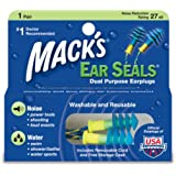 Mack's Ear Seals Earplugs 1 pair