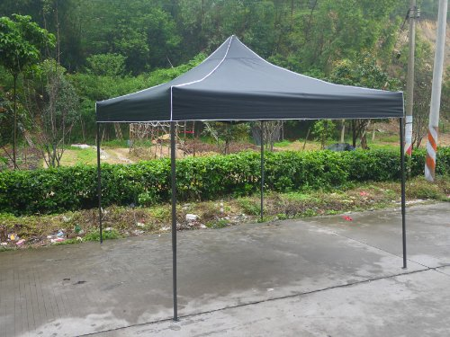 American-Phoenix-10x10-10x20-10x15-Multi-Color-and-Size-Portable-Event-Canopy-Tent-Canopy-Tent-Party-Tent-Gazebo-Canopy-Commercial-Fair-Shelter-Car-Shelter-Wedding-Party-Easy-Pop-Up-10x10-Black